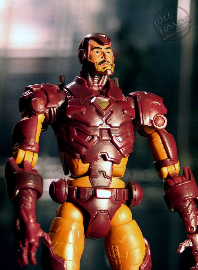 Origin Of Iron ~ Idle hands a brief history of iron man action figures