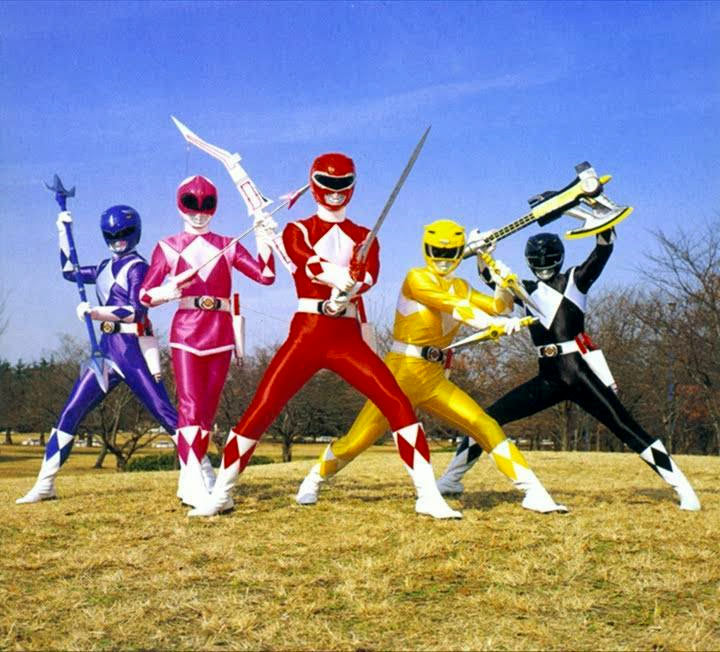 first power rangers series