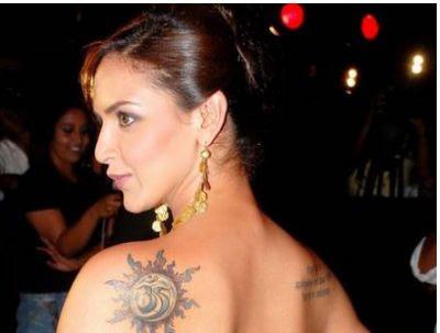 hollywood tattoos