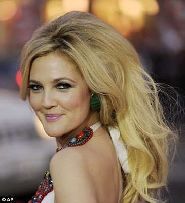 Look 50 years for Drew Barrymore that can be occupied to attend the premiere ...