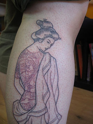 Today every body knows geisha tattoo because it becomes a trend in women and
