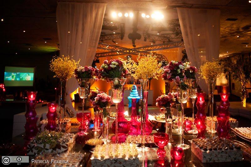 mundo da lili Decoração de Casamento Marrom, Rosa e Amarelo