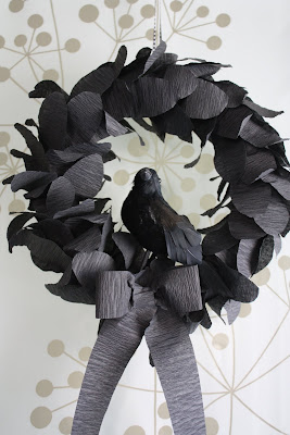 Nevermore Halloween Wreath
