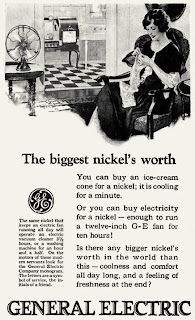 Vintage GE ads