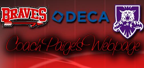 Coach Paige's Webpage