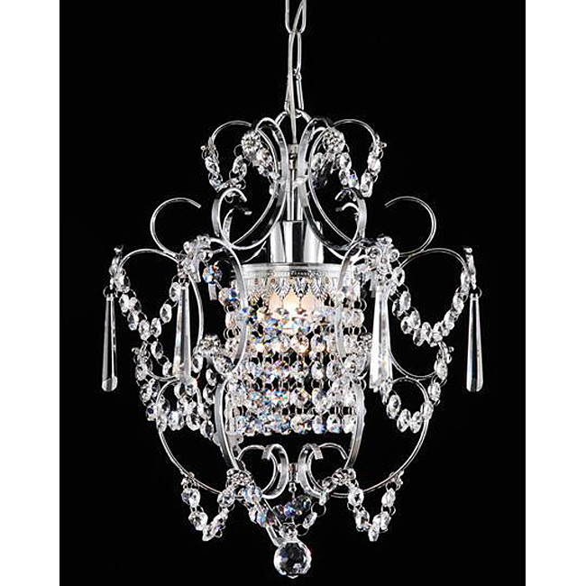 Am dolce vita powder room chandelier for Small chandeliers for bathrooms