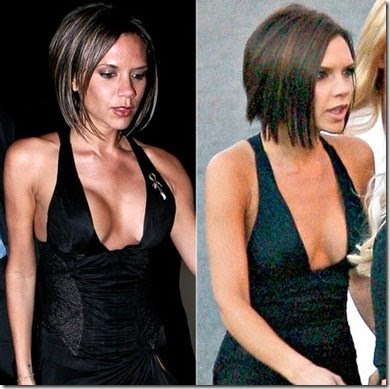 Victoria Beckham's Boobs Deflated Noticeably