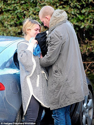 Billie Piper and her husband Laurence Fox