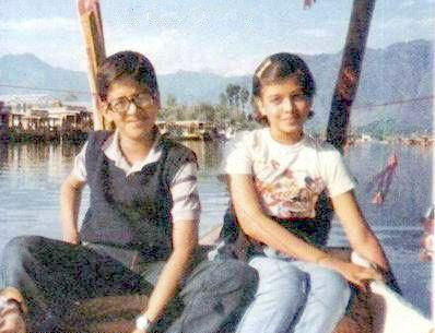 Aishwarya Rai with Brother Aditya