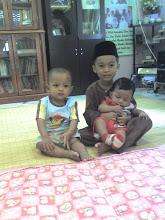 anak2 sedara- afiq,a.salam n wafiy