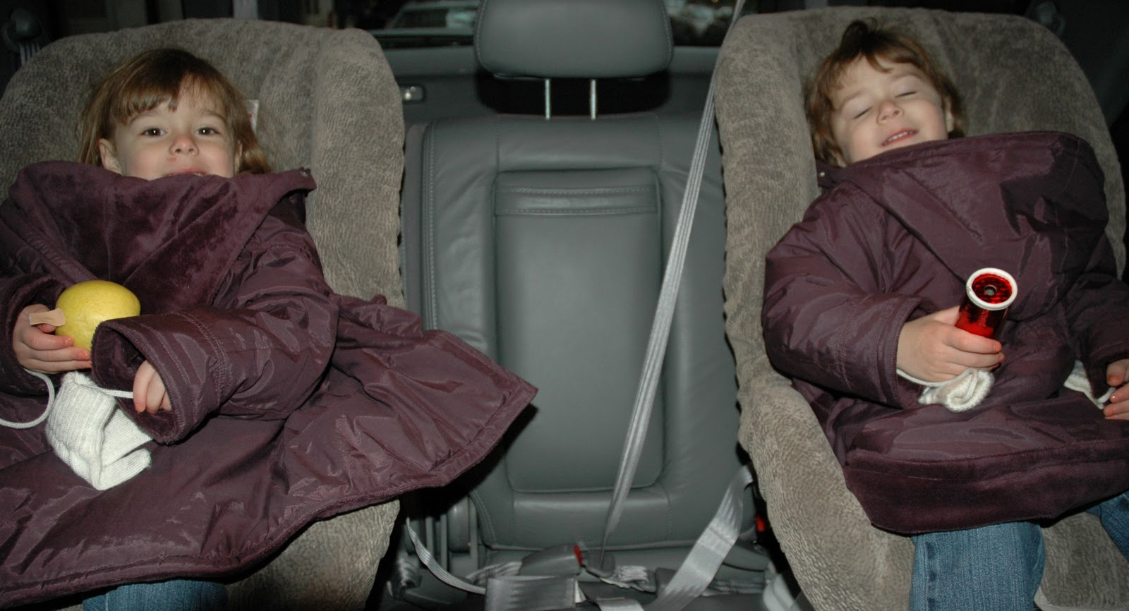 most coats car seats are not a safe combo here are ways to keep kids warm safe
