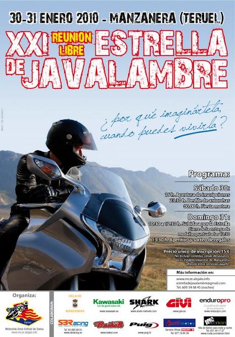 Estrella de Jabalambre. Enero de 2010 (Manzanera Teruel)