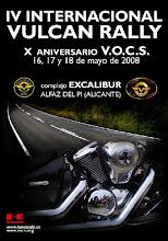 IV Internacional Vulcan Rally 2008 Alfaz del Pi (Alicante)