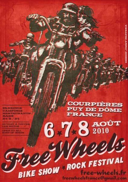 Free Whells  Agosto de 2010 (Courpiere Fr.)