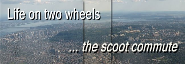 Life on two wheels, the scoot commute