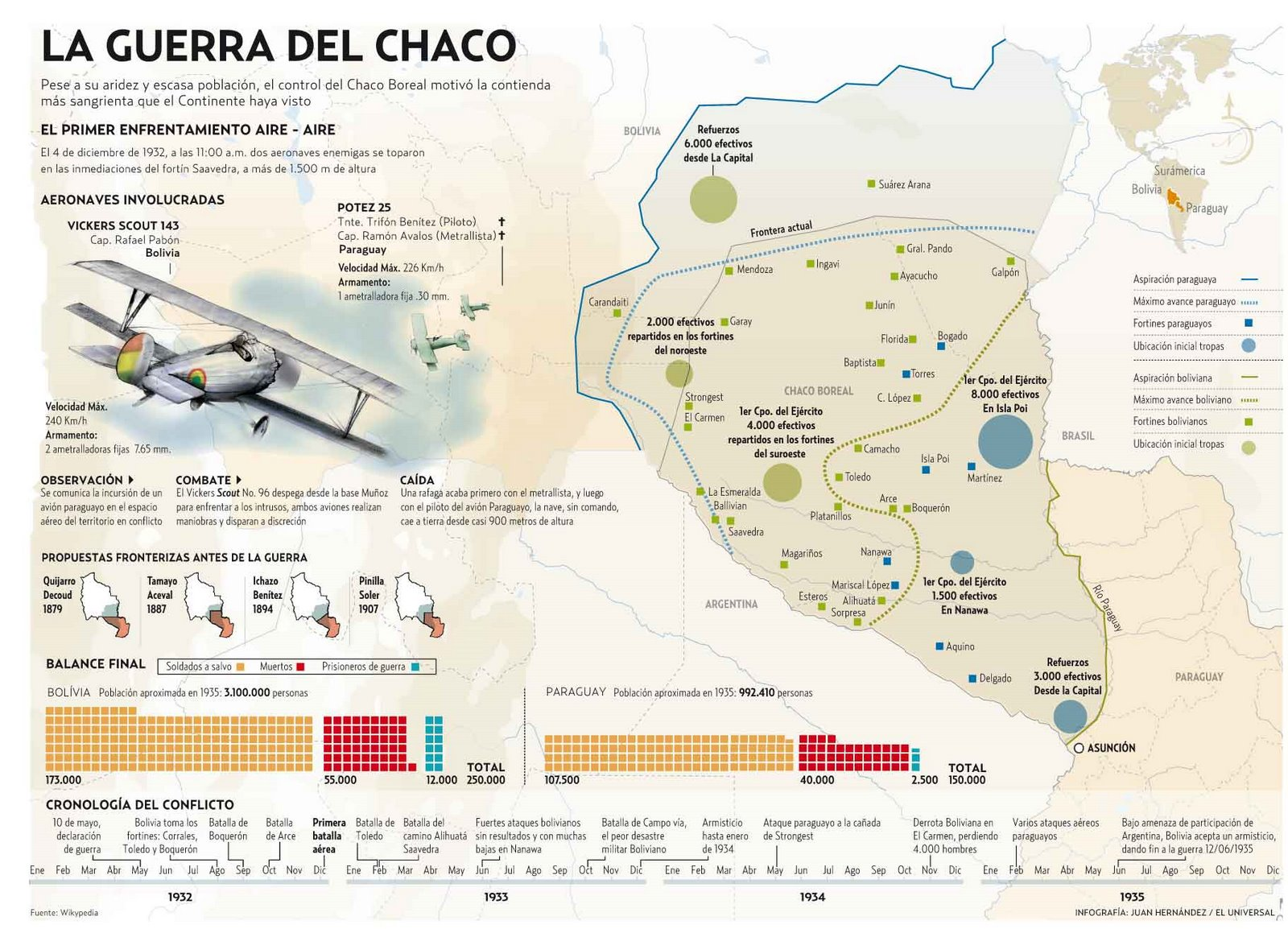 A Map Of Bolivias Historical Territorial Losses - South america map gran chaco