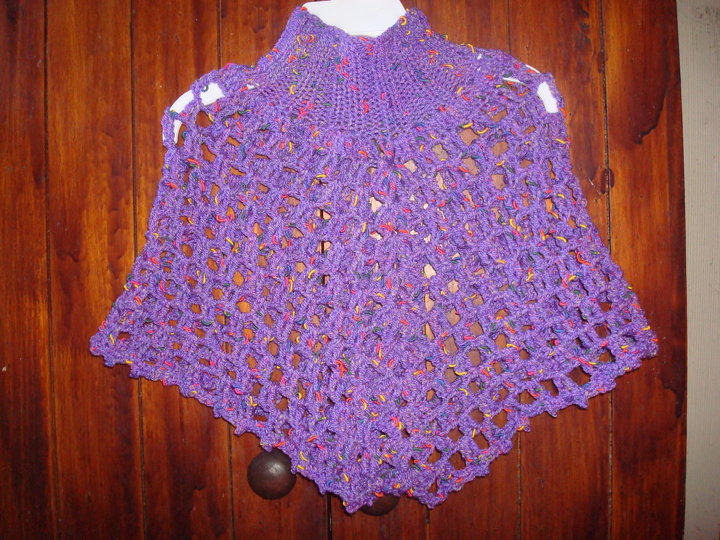 Increíble Niño Patrón Poncho Crochet Composición - Ideas de Patrones ...