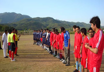 Picture of Football teams of Quaid-e-Azam University Islamabad
