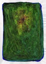 Arco Selas. Lápida (tintas laqueadas sobre papel). París, 2006.