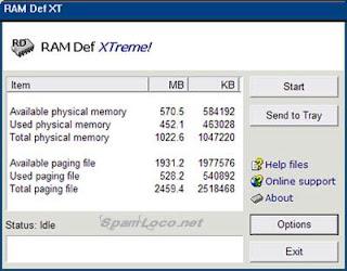 eLiberator de spatiu memorie RAM