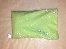 Tecido para sacos - Verde com Estrelinhas