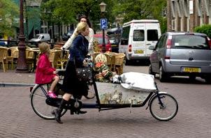bici in città Amsterdam