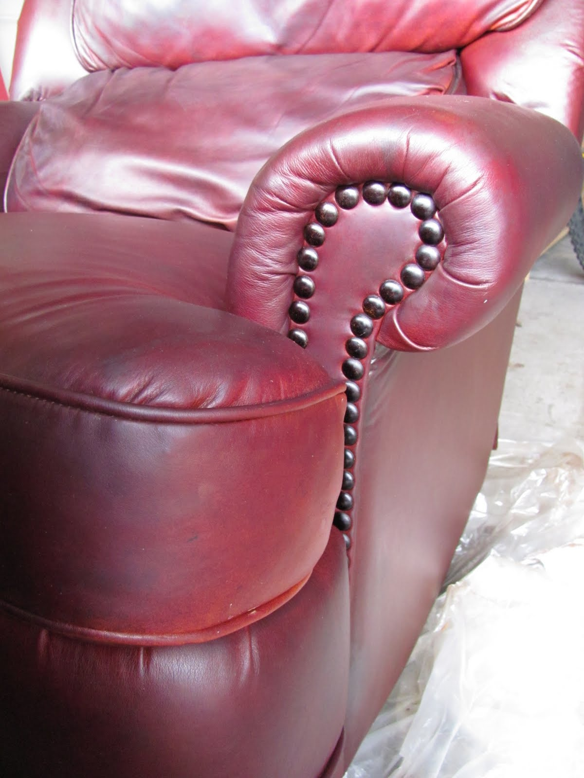 Header Re Dye Of A Free Leather Chair