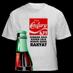 Kaos Tematik: Enjoy Century 6,7 T Dimana Saja Kapan Saja Minum Uang Rakyat