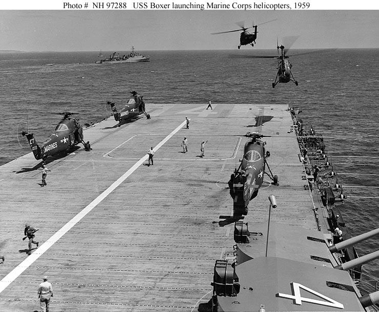 naval warfare  uss boxer  cv cva cvs lph