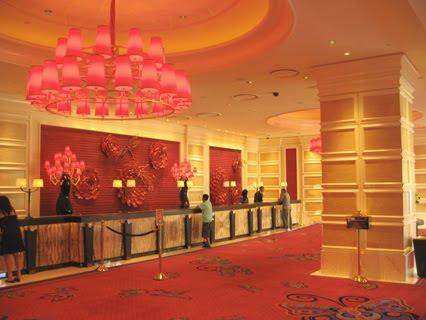 Lobby at Wynn