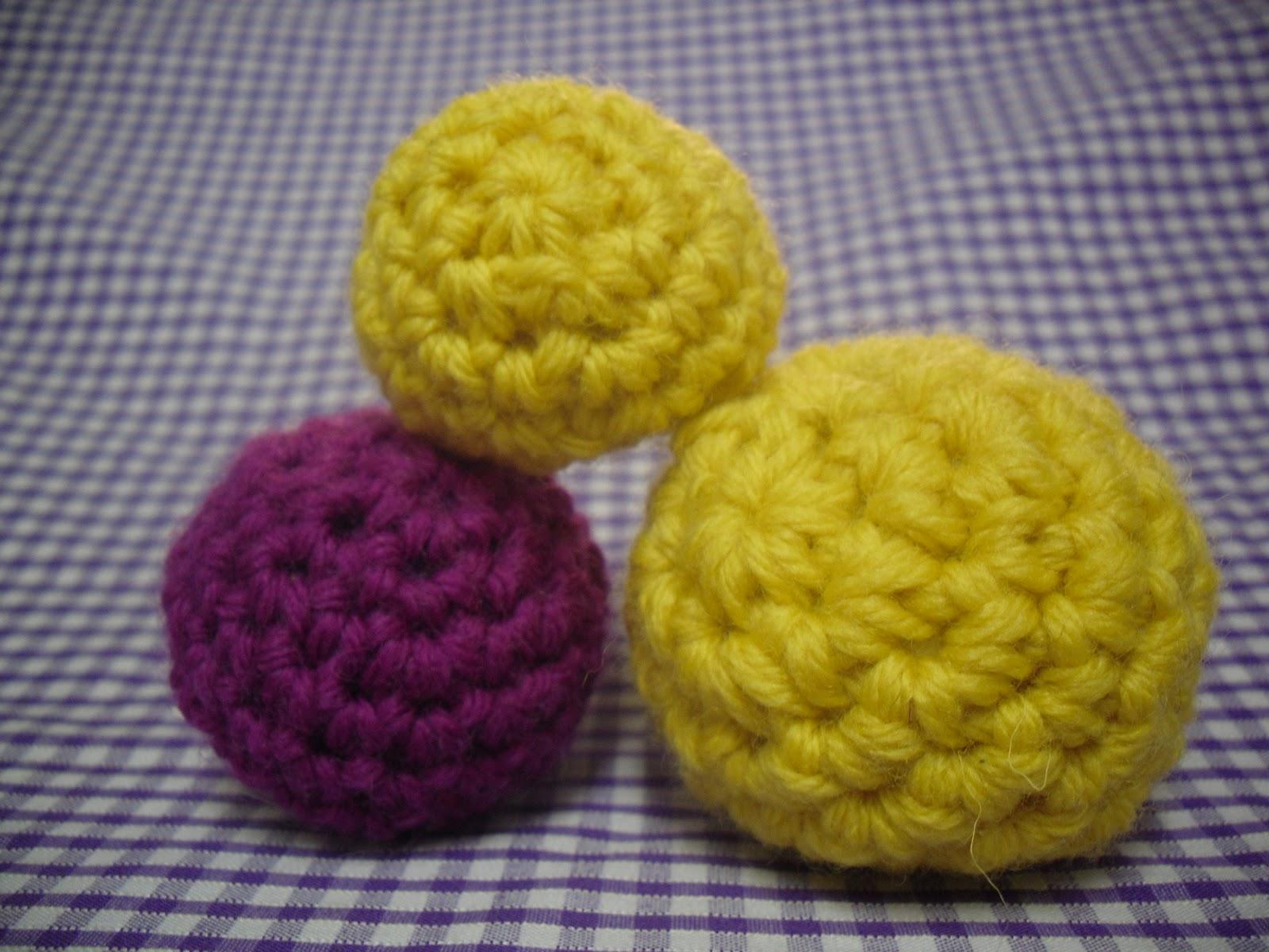 Make Japanese Amigurumi Ball : Primrose Beresford: Little Crochet Balls Pattern