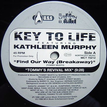 Uplifting garage house music key to life feat kathleen for Garage house music