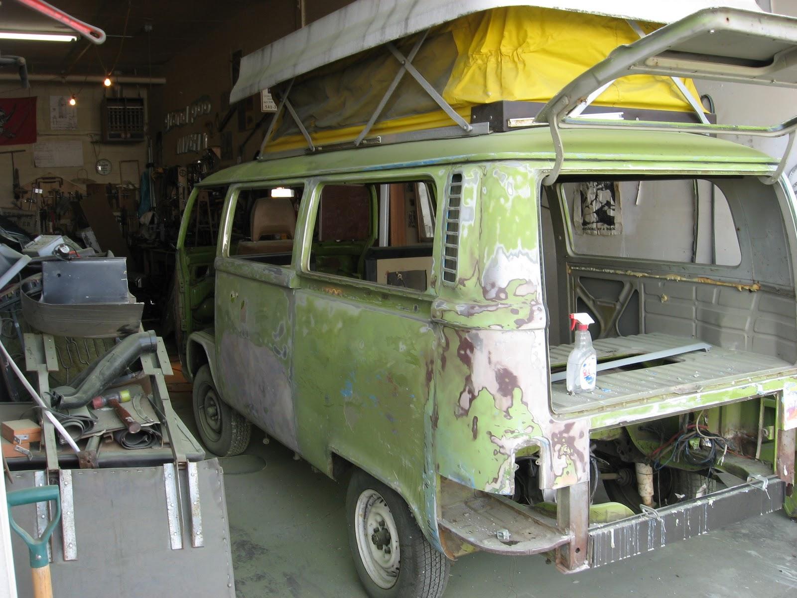 melmo restoration bus gets a nose job 1977 vw riviera camper for sale