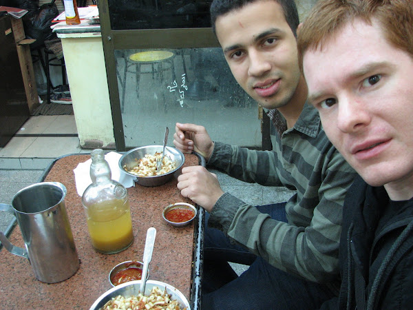 Ahkmed and I do the food thing