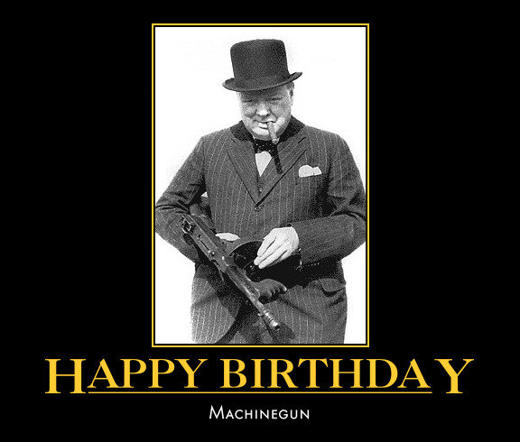 Happy Birthday Guns Gallery