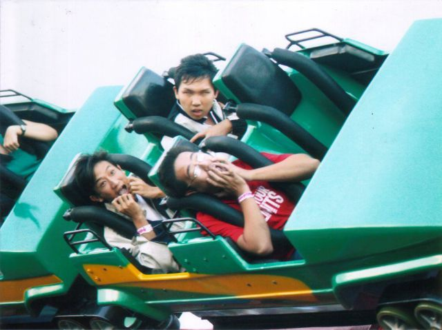 funny roller coaster pictures. Funny Faces During Roller