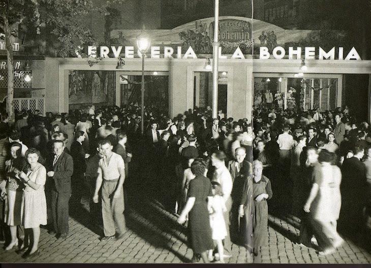La popula cerveseria Bohemia Ronda Sant Pau-Aldana