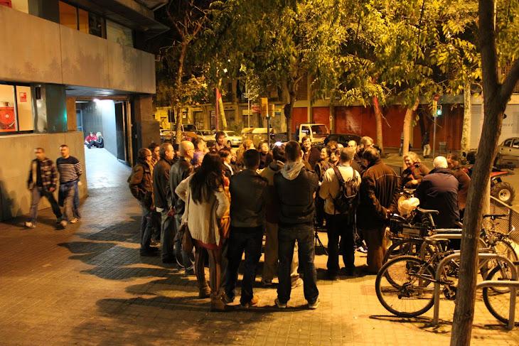 Passeig Històric al Paral·lel barri Sant Antoni