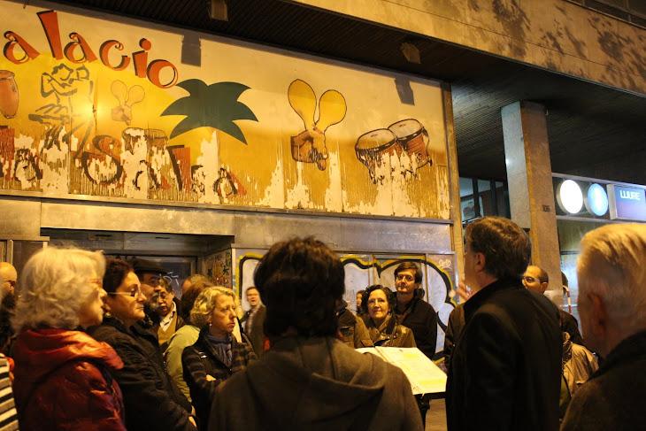 Avui Palacio de la Salsa, ahir Salón Amaya/Estudios IFI
