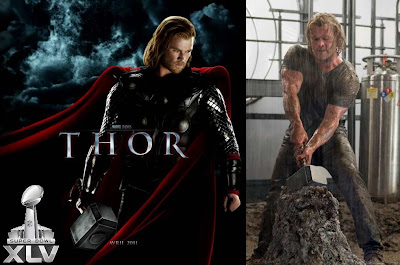 Thor Superbowl trailer