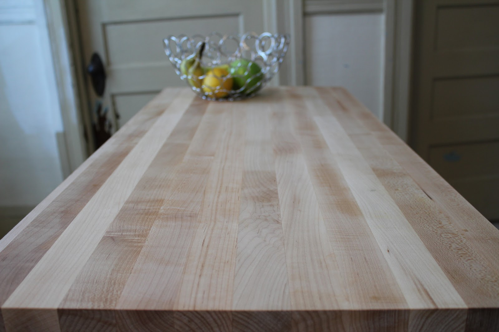 And Although It S Perfectly Fine To Use This Butcher Block Top As A Chopping Just Too Pretty Cut Into For Now