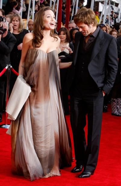 Now how gorgeous is this dress worn by Angelina Jolie? I love it.