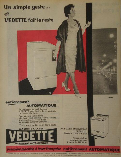 L 39 volution de l 39 image de la femme des ann es 1950 - Premiere machine a laver ...