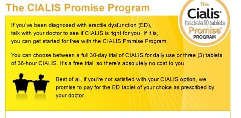 The Cialis Promis
