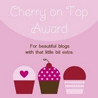 Cherry on Top blog Award!!