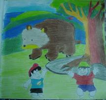 สองเกลอเจอหมี