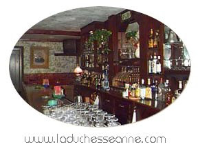 Bar in La Duchesse Anne in Mt. Tremper, NY