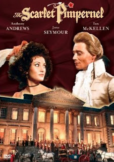 The Scarlet Pimpernel 1982 starring Anthony Andrews and Jane Seymour, DVD Cover. Photo courtesy of Amazon.com