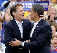 Evan Bayh and Barack Obama