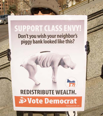 Redistribute Wealth - Vote Democrat